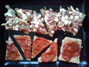 Pizza: Layers layers