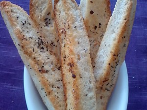 Nice & crispy bread wedges