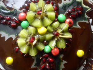 Christmassy sponge
